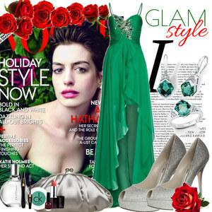 Outfit Glam style von Justine