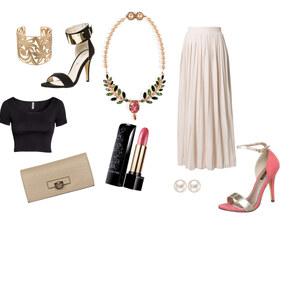 Outfit rosa Nacht von The Blog Book