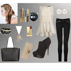 Outfit Fancy Dinner von Celine Eichenberg