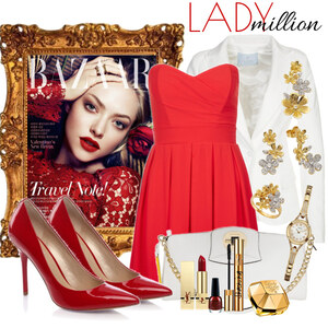 Outfit lady million von Justine