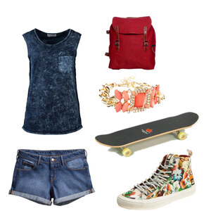 Outfit Skate Girl von Selina