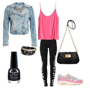 Outfit sportlich von AnnaSeder