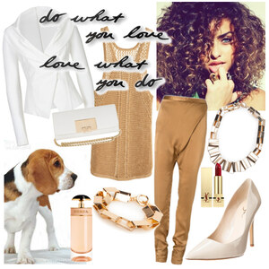 Outfit GOLD  von A.N.N.A