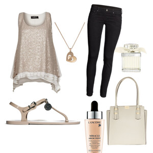 Outfit S. v.d.Woodsen Gold luxery  von theresagr
