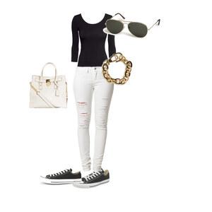 Outfit Black and white  von buyfashion