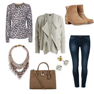 Outfit Für kühle Frühlingstage von The Blog Book