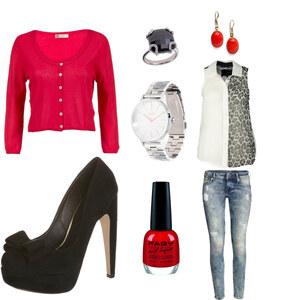 Outfit Red von AnnaSeder