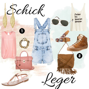 Outfit Latzhose mal anders von honeypie95