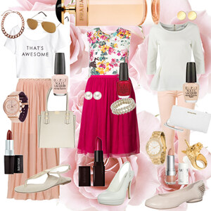 Outfit pink, pink & pink von princess_abby