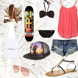 Outfit A Day In LA von Celine Eichenberg