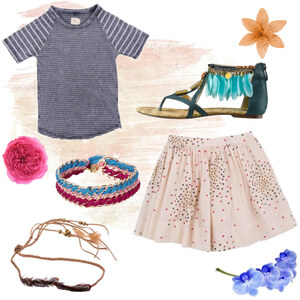 Outfit Little Girl von Selina