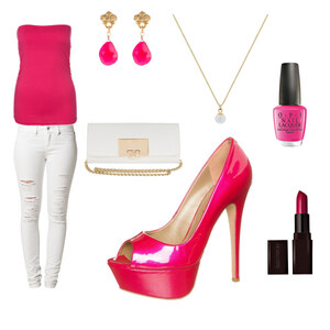 Outfit Barbie von AnnaSeder