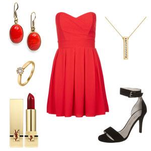 Outfit Rot von AnnaSeder