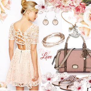 Outfit Rosy Love von Sarah