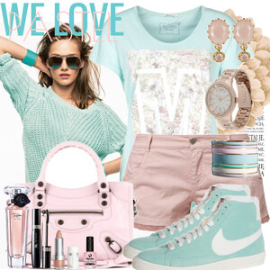 Outfit we love pastel von Justine