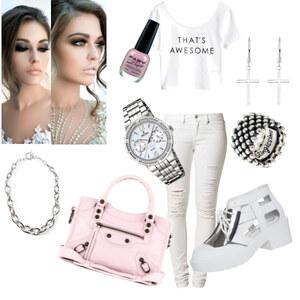 Outfit pastell von caro