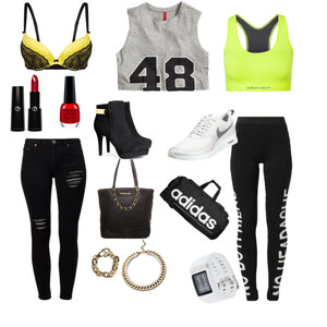 Outfit sports and normal von caro