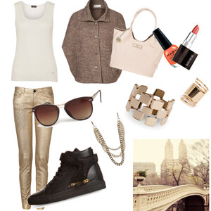 Outfit shopping in autumn von caro