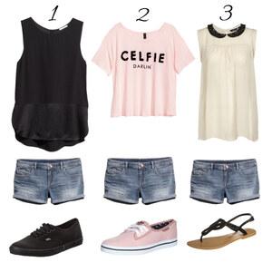 Outfit 1 Hose drei Outfits von Sandzak2000