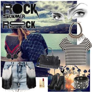 Outfit Rock Summer von L.I.S.S.Y