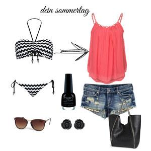 Outfit Sommertag von _wonderlandgirl_