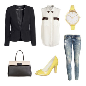Outfit Yelllow becomes chic von Anjasylvia ♥