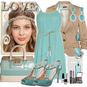 Outfit blue dream von Justine