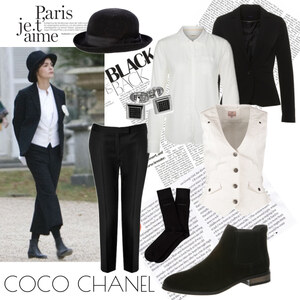 Outfit Inspired by Audrey Tautou as Coco Chanel von Annik