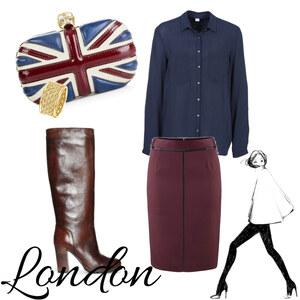 Outfit London chic von Sam