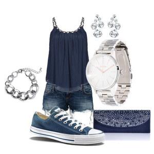 Outfit blue love von Kim Klein