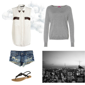 Outfit Cold Summer Night von Anjasylvia ♥