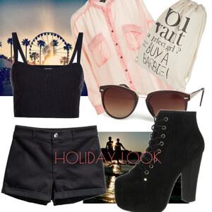 Outfit holday look von Soraya Loch