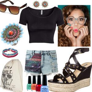 Outfit bunt, bunter, sommer ♥ von Laura