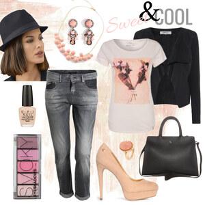 Outfit Boyfriend-Girlfriend Look von Annik
