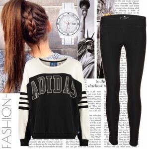 Outfit adidas von fashion-
