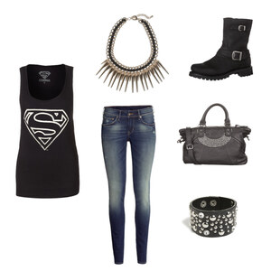 Outfit SuperMan ! von Emely Oehler