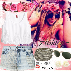 Outfit summer Festival von fashion-