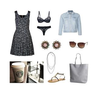 Outfit Kaffeetrinken von Anjasylvia ♥