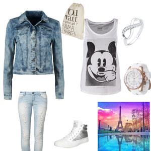 Outfit jeans von Alyssa Wachtler