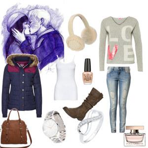 Outfit Ein Date Im Kalten winter von Alyssa Wachtler