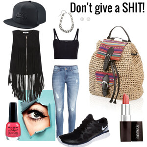 Outfit Don't give a SHIT ! von Jessica Dutz