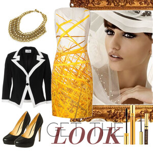 Outfit Chic in yellow von Heidi Bordt