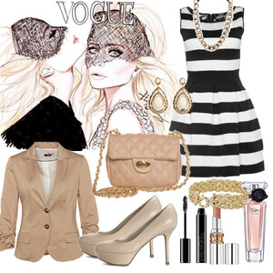 Outfit Golden Flair von Heidi Bordt