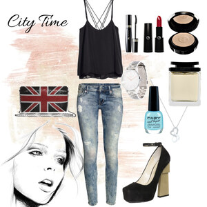 Outfit City Time von Michelle Krisztina