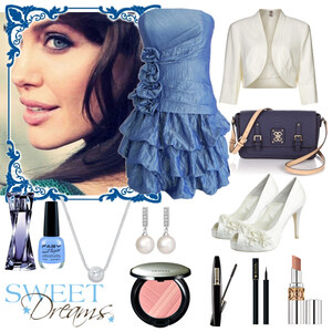 Outfit blue is the new black ;-) von Heidi Bordt