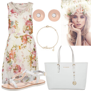 Outfit Flowers von dilaaan