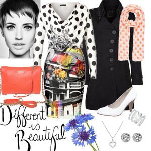 Outfit Different von Alisa Lillifee