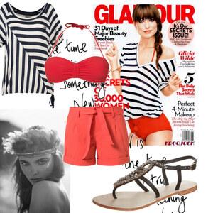 Outfit red von Alisa Lillifee