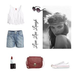 Outfit Love Live Laugh von Anjasylvia ♥