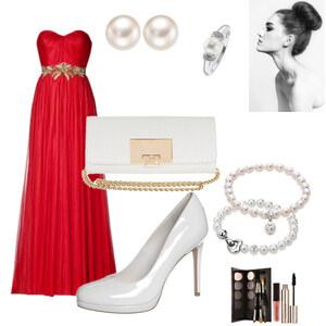 Outfit Abendkleid von Bianka
